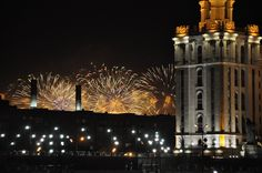 9 may 2015. Victory day fireworks