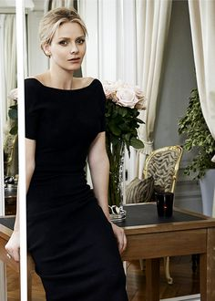"gabriellademonaco: ""Princess Charlene of Monaco, 2014 """