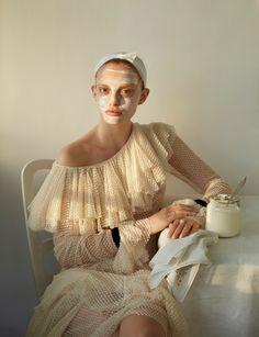 Do It Yourself Publication: Vogue Italia November 2016 Model: Ella Wennstrom Photographer: Camilla Akrans Fashion Editor: Robert Rydberg Hair: Erika Svedjevik Make Up: Fredrik Stambro