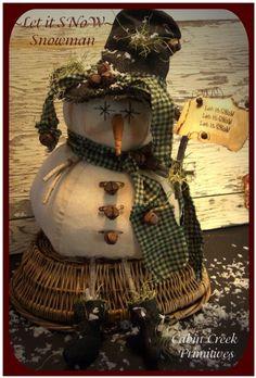 PatternMart.com ::. PatternMart: Let it Snow Snowman Christmas PM