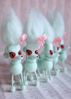 At last - Bloodles! (blue vampoodles) by mab graves, via Flickr