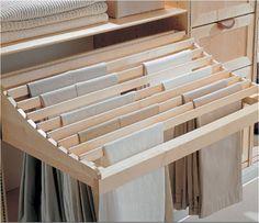 pantalonera Diseño de closets, cada cosa en su lugar
