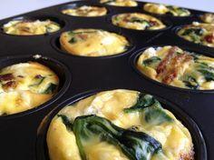 Recipe // vegetarian mini frittatas - PS by Dila