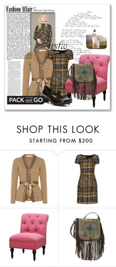 """""""pack and go for nyfw"""" by peeweevaaz ❤ liked on Polyvore featuring Valentino, Oscar de la Renta, Threshold, Naot, women's clothing, women, female, woman, misses and juniors"""