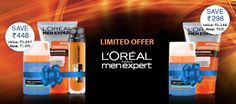 #Nykaaoffers  Calling all modern men. L'oreal Paris Men Expert Limited Edition Combo Sets at an amazing discount right here at Nykaa.   Shop now : http://www.nykaa.com/brands/loreal-paris.html