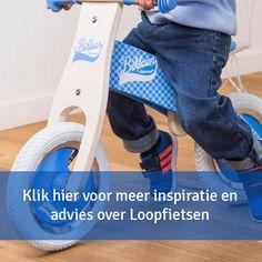 Een loopfiets hoort bij de ontwikkeling van een kind. Het helpt ze stap voor stap te fiets. oopfietsjes van hout zijn er met twee, drie en vier wielen. Het ligt aan de lengte en leeftijd van het kind welke fiets je nodig hebt.