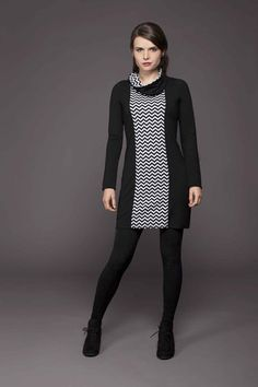Tunique Col Amovible | Cherry Bobin Fall Winter 2014, Sweaters For Women, High Neck Dress, Pullover, Collection, Cherry, Dresses, Style, Fashion