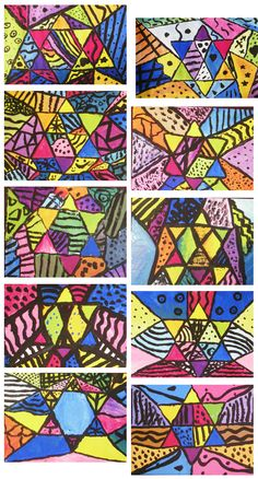 4th Grade Art with Mrs. Brown