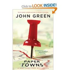 Paper Towns by John Green.  I read this a month or so ago and forgot to pin it.  VERY good book.  Couldn't put it down.