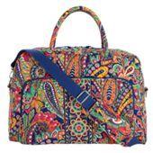 Weekender Travel Bag in Venetian Paisley | Vera Bradley