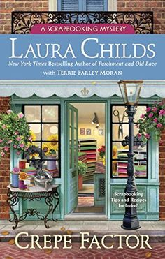 Hardcover – October 4. Crepe Factor: A Scrapbooking Mystery by Laura Childs http://www.amazon.com/dp/0425266702/ref=cm_sw_r_pi_dp_QrK0wb0CTEF41