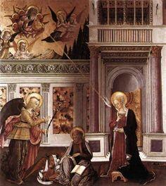 Benedetto Bonfigli. Anunciación