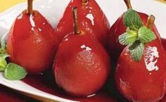 Caramel Apples, Relleno, Deserts, Cherry, Food And Drink, Stuffed Peppers, Candy, Fruit, Vegetables