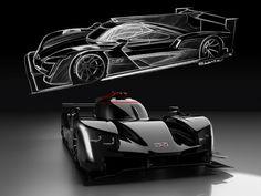 Cadillac unveils the DPi-V.R IMSA race car