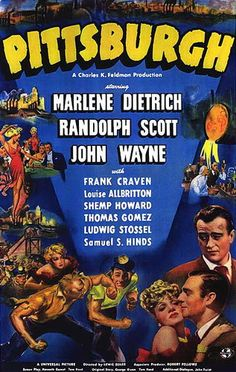 """John Wayne, Marlene Dietrich, and Randolph Scott reunite following the success of """"The Spoilers"""" for this rugged drama about a pair of miners whose friendship is ruined when they fall in love with the same woman and take different paths in the coal and steel industries."""