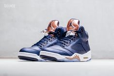 3aea3a8e01d7 Air Jordan 5 Bronze Obsidian Olympic Release Date - Sneaker Bar Detroit