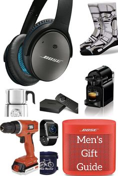 Ultimate men's gift guide for the hard to shop for guys, brothers, friends, husbands, and boyfriend. I've got your back with this gift guide for the men!