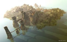Westeros made out of Minecraft