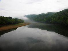 The beautiful White River near Mountain View, Arkansas