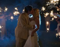 www.morgancreekwinery.com #bride #groom #fireworks #sendoff #married #couple #love #reception #wedding #weddingreception #romantic #sparklers #alabamaweddings