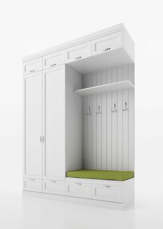 Dressing room Source by room design Mudroom Cabinets, Mudroom Laundry Room, Laundry Room Design, Entry Closet, Front Closet, Bedroom Closet Design, Home Room Design, Small Mudroom Ideas, Home Entrance Decor