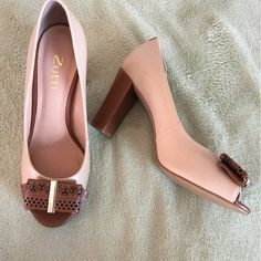 Dressbe   Peep Toe Zutti #shoes #peeptoe #sapato #moda #fashion