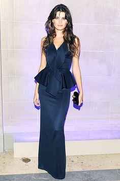 Isabeli Fontana in Givenchy dress