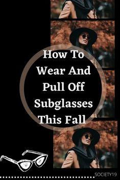 How To Wear And Pull Off Sunglasses This Fall Cute Fall Jackets, Tight Leather Pants, Halloween And More, Big Sunglasses, Dark Look, Fall Hats, Wind And Rain, Fall Styles, Pull Off