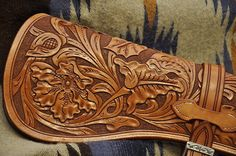 rifle scabbard close-up | Flickr - Photo Sharing!