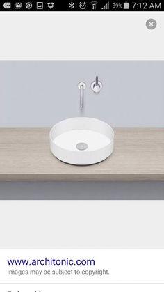 Alape round basin