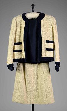 Chanel Wool Sui, c 1962