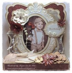Marjan's scrapkaarten: We Love Vintage Challenge Vintage Cards, Our Love, Challenges, Frame, Creative, Den, Scrap, Butter, Templates