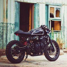 Honda CB 600 F Jigsaw Custom Motorcycle