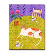 ORIGINAL ginger orange marmalade CAT with coffee and от tascha