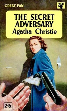 The Secret Adversary by Agatha Christie. Published in 1922 and introduces Tommy and Tuppence. A good fun read.