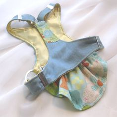 Small Dog Harness Dress  Country Girl by FooFooFido on Etsy, $75.00