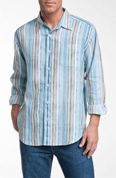 Tommy Bahama 'Kings Beach Breezer' Linen Sport Shirt