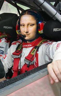 Mona List | Mona Lisa - Mona WRC !!!