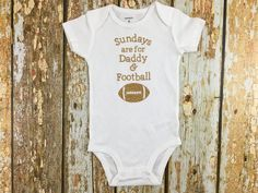 Sundays are for Daddy and Football