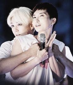 Teuk & Kangin SMTown Concert