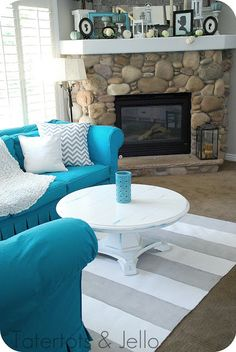 My Slipcovered Sectional and a Giveaway!