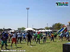 Department of Agriculture Corporate Fun Day team building event at the Pretoria Show Grounds in Gauteng. Team Building Events, Team Building Activities, Team Building Exercises, Pretoria, Good Day, Agriculture, Dolores Park, Fun, Travel
