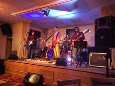RUGBY/FOOTBALL CLUB: These venues often have a purpose built stage or performance area for bands like us which makes them ideal places to hold your function or event.