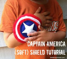 Toddler Approved!: Captain America (Soft) Shield Tutorial
