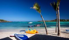 Try windsurfing or paddle boarding next time you are at Hotel Guanahani & Spa, St. Barts