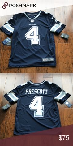05901059eed Dallas Cowboys Dak Prescott Jersey Never worn, brand new still with tags.  Nike Other