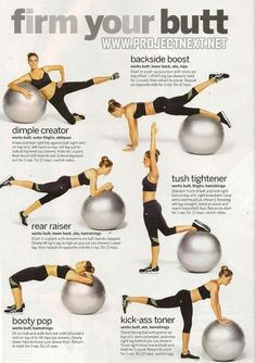 Butt workouts for my sad little ball...