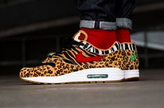 pretty nice 185fc 3cc4e Cop The Exotic atmos x Nike Air Max 1 Animal Pack 2.0 This Weekend Nike s  Air
