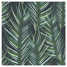 Find Superfresco Easy Paste the Wall Palm Leaves Green Wallpaper at Homebase. Visit your local store for the widest range of paint & decorating products. Green Leaf Wallpaper, Palm Wallpaper, Feature Wallpaper, Wallpaper Samples, Leaves Wallpaper, Tropical Wallpaper, Bedroom Wallpaper, Wallpaper Wallpapers, Tree Leaves