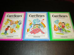 Retro Set Of 3 Vintage Hardcover Care Bear Books, 1980's, Good Used Condition. on Etsy, $15.00